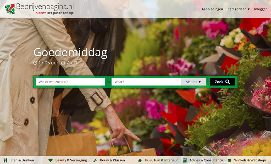 Bedrijvenpagina logo - dMOTION | full stack development, Rotterdam
