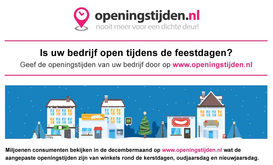 Openingstijden.nl HTML5 reclame banner - dMOTION | full stack development, Rotterdam