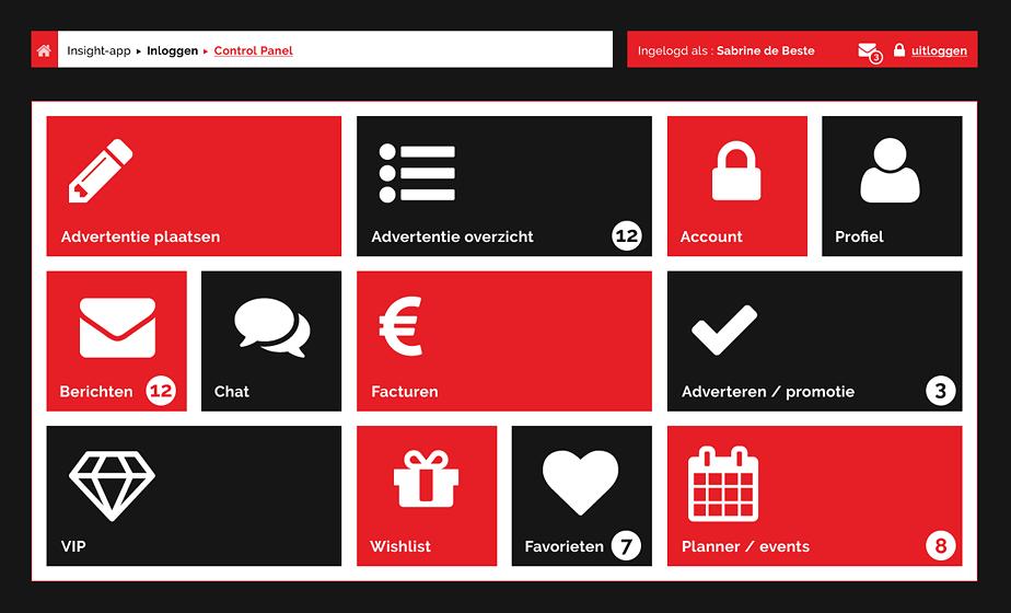 UI, UX, UA ontwerp app - dMOTION | full stack development, Rotterdam